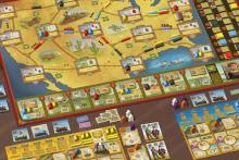 Railroad Revolution Spielaufbau - Foto von What's Your Game