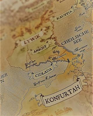 The King's Dilemma - Landkarte - Foto von Alex Sch.