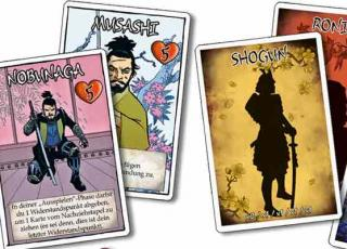 Bang! Samurai Sword - Karten - Foto von Abacusspiele