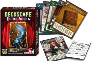 Deckscape: Hinter dem Vorhang - Material - Foto von Abacusspiele