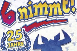6 nimmt feiert Jubiläum - 25 Jahre - Foto-Ausschnitt von Amigo Spiele