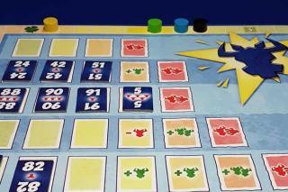 6 nimmt! - Brettspiel - Brett mit Leiste - Foto von Axel Bungart