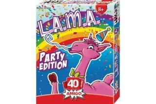 L.A.M.A Party-Edition - Schachtel - Foto von Amigo Spiele