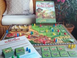 Brettspiel El Gaucho aufgebaut - Foto von Argentum