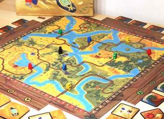 Treasure Hunt - Spielplan des Geocachingspiels - Foto Mareike Schöbel