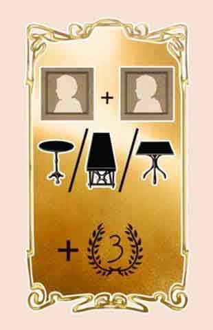 Spielkarte von Cafe Melange - Foto von Clicker Spiele