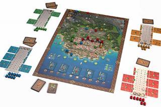 Brettspiel Ragusa - Foto von Braincrack Games/Giant Roc