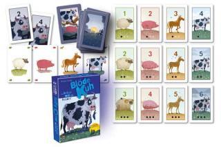 Kartenspiel Blöde Kuh - Material - Foto von Drei Hasen in der Abendsonne