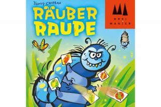 Kinderspiel Räuber Raupe - Foto von Drei Magier Spiele