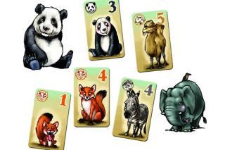Animals on Board Spielmaterial - Foto von eggertspiele