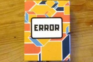 Error - Schachtel - Foto von Jörn Frenzel