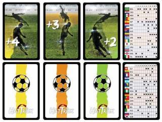 Hat-Trick - Kartenspiel - Shooting- und Team-Karten - Foto von Games Unplugged
