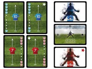 Hat-Trick - Kartenspiel - Player- und Goalkeeper-Karten - Foto von Games Unplugged
