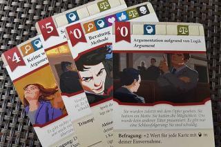 Einspruch! - Duell der Anwälte - Spielkarten - Foto von Axel Bungart