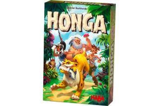 Familienspiel Honga Fotoausschnitt von Haba
