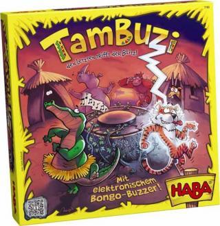 Schachtel Kinderspiel Tambuzzi - Foto von Haba