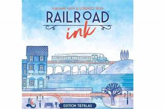 Railroad Ink - blaue Schachtel - Foto von Heidelbär