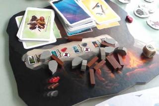 Paleo - Spielszene im Detail - Foto von Jörn Frenzel