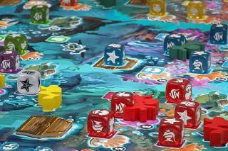 Coralia - Action auf dem Spielbrett - Foto von HUCH!