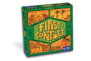 Kommunikationsspiel First Contact - Schachtel - Foto von Huch