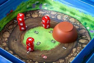 Spielszene bei Jumpkins - Foto von Huch
