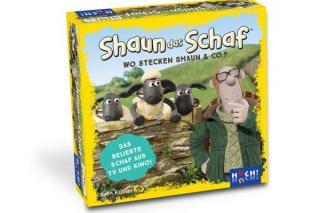 Kinderspiel Shaun das Schaf: Wo stecken Shaun & Co.? - Foto von HUCH