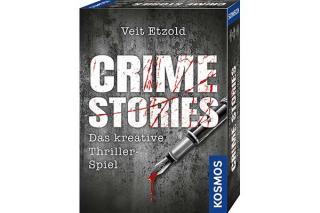 Krimi-Schreib-Spiel Crime Stories - Foto von Kosmos
