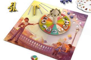 Monsieur Carrousel - Spielbrett - Foto von Loki