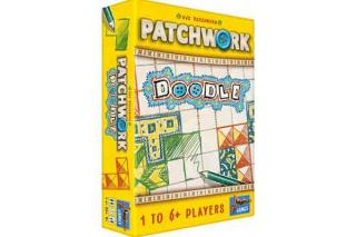 Cover Patchwork Doodle - Gesellschaftsspiel - Foto von Lookout Spiele