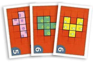 Patchwork Doodle - Spielkarten - Foto von Lookout Spiele