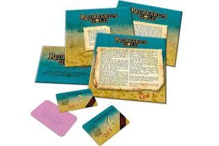 Material von The Legend Of Redbeard's Gold - Foto von Noris Spiele
