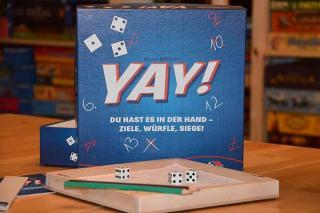 Gesellschaftsspiel Yay! Aufbau - Foto von Axel Bungart