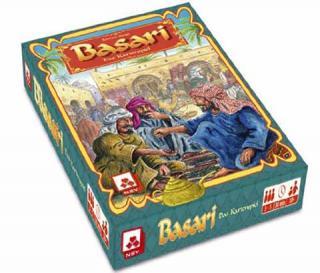 Spieleschachtel des Gesellschaftsspiels Basari - Foto von NSV