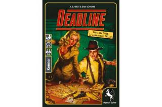 Gesellschaftsspiel Deadline - Foto von Pegasus Spiele