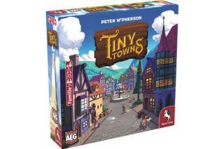 Tiny Towns - Schachtelgrafik - Foto von Pegasus Spiele