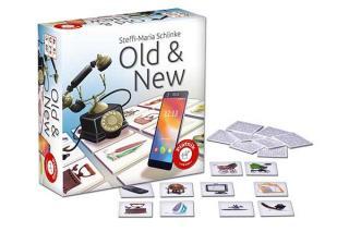 Memospiel Old & New - Schachtel - Foto von Piatnik