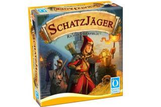 Gesellschaftsspiel Schatzjäger - Foto von Queen Games