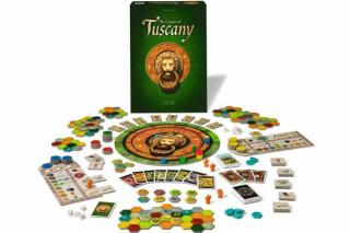 The Castles Of Tuscany - Material - Foto von Alea/Ravensburger