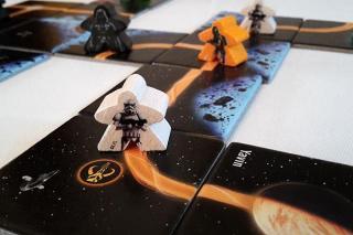 Carcassonne: Star Wars Edition - Spielaufbau - Foto von Axel Bungart
