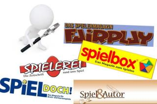 Gedruckte Spielemagazine in Deutschland