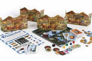 Brettspiel Oktoberfest - Material - Foto von Rio Grande Games
