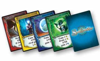 Brettspiel Spellcaster - Spielkarten - Foto von RnR Games