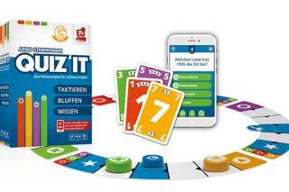 Quiz It - Aufbau - Foto von Rudy Games