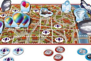 Die Heinzels: Mission Pupskrakete - Spielbrett Ausschnitt - Foto von Schmidt Spiele