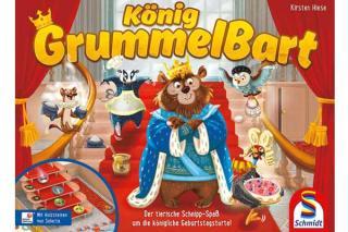 Kinderspiel König Grummelbart - Foto von Schmidt Spiele