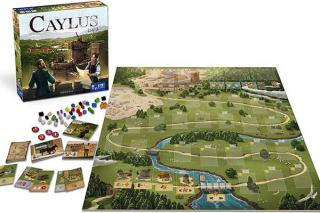 Worker-Placement-Spiel Caylus 1303 - Material - Foto von Space Cowboys