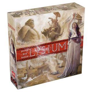 Schachtel des Brettspiels Elysium - Foto von Space Cowboys