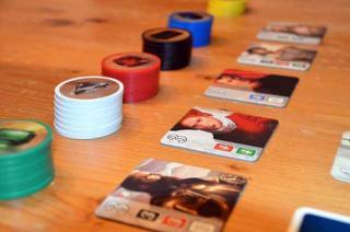 Splendor - Gesellschaftsspiel Chips und Adelige - Foto von Axel Bungart