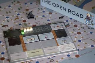 The Open Road - Tableau - Foto von Spielefaible