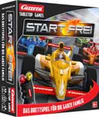 Spieleschachtel des Familienspiels Start frei - Foto: Carrera Tabletop Games